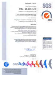 Certificazione ISO 9001:2015 ITAL.GE.COS.